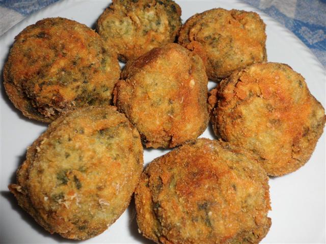 Polpette di patate e spinaci
